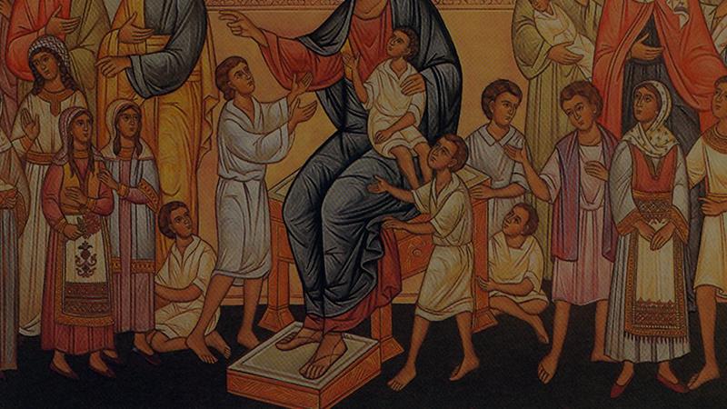 Header Kinderen leren van Jezus